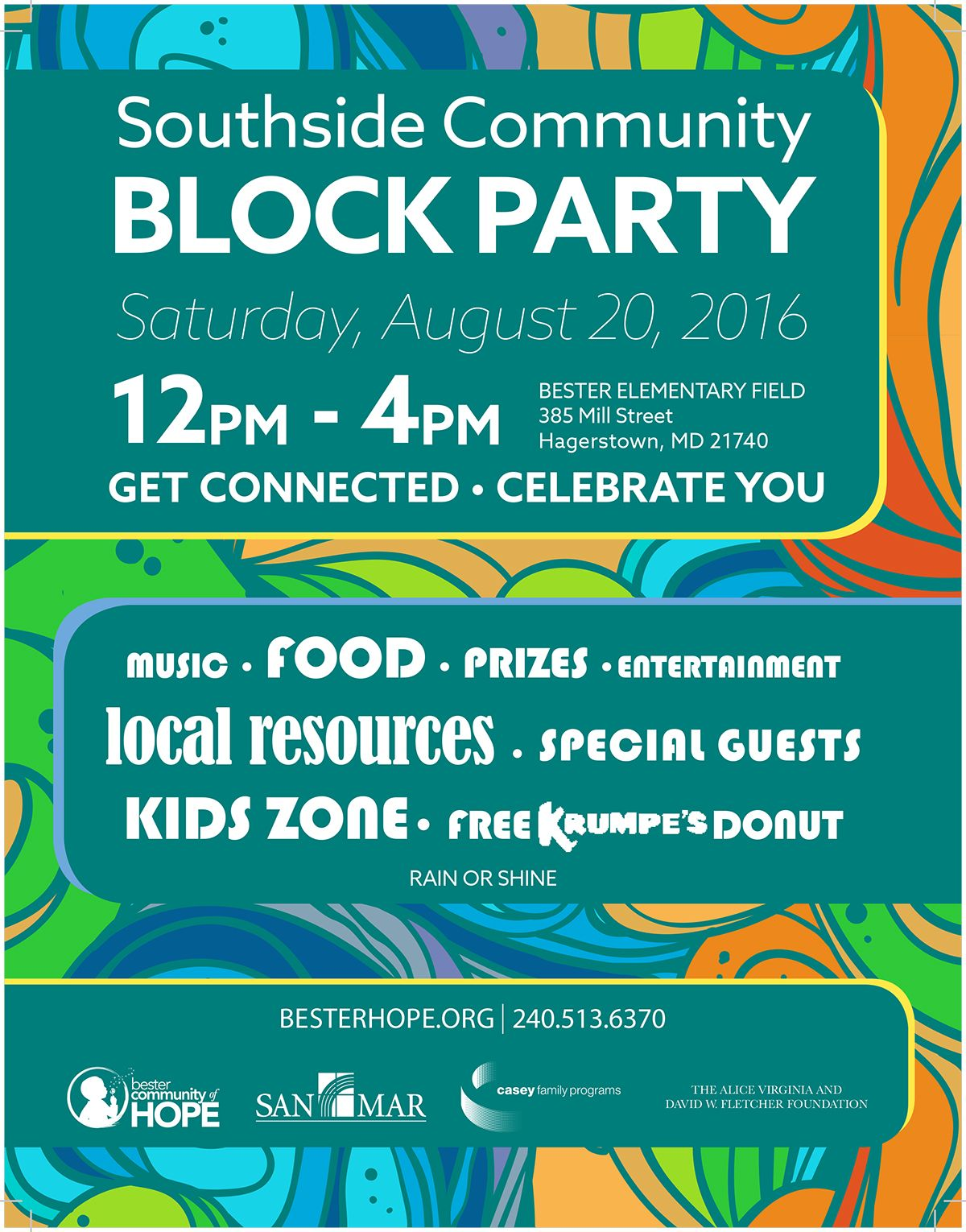 southside community block party bester community of hope